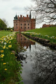 Wonderful Egeskov Castle, Denmark. https://facebook.com/unisouthdenmark #travel