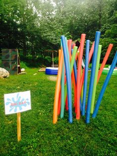 Connor's Wet & Wild Wipeout Party with detailed instructions for setting up obstacles Kids Birthday Themes, Birthday Party Games, 6th Birthday Parties, Birthday Fun, Birthday Wishes, Wipeout Birthday, Wipeout Party, Birthday Present Diy, Backyard Carnival