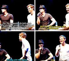Joseph and Ian haha