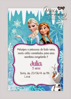 { Miloca Lembrancinhas } : Festa Frozen