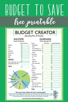 59 best budget creator images on pinterest in 2018 finance