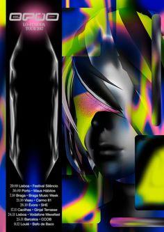 Poster for the Ermo Lo fi Moda Tour 2017 in Portugal. #jonathancastro