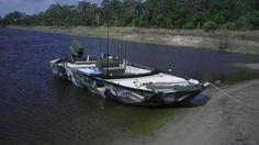 18' Aluminum Jon boat