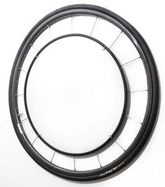 Upcycled Road Bike Wheel Mirror by bikefurniture on Etsy
