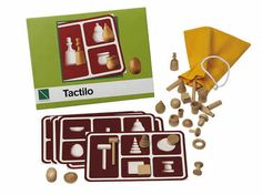 3D-vormen verkennen Lottokaarten met afbeeldingen van de 3D-vormen. Lotto-voelspel en andere spelmogelijkheden.