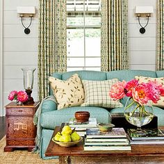 This Southern farmhouse in Nashville, Tennessee is designed, built and decorated by Southern Living's Idea House team. Decorated by Phoebe...