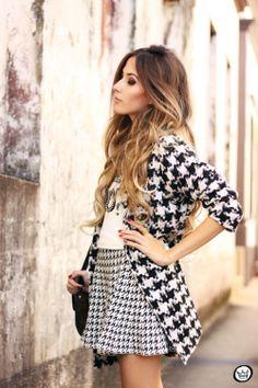 FashionCoolture - 14.05.2014 look du jour pied de poule pied de coq  (2)