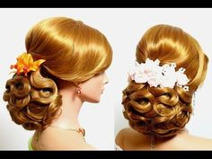 Hairstyles by Sklemina Tatiana Please visit my new channel for more hairstyles! http://www.youtube.com/womenbeauty1Ru