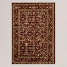 One of my favorite discoveries at WorldMarket.com: Red Feather Rug