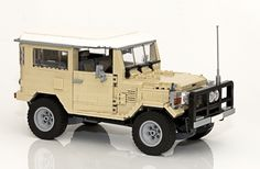 LEGO Ideas - Toyota Landcruiser 40 Series
