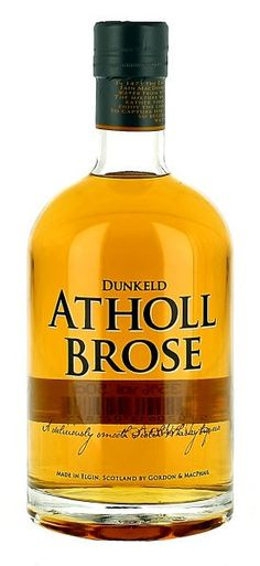 Dunkeld Atholl Brose by Gordon & MacPhail was inspired by an ancient Highland recipe, the award-winning Atholl Brose is a delicious boutique liqueur that caputres the best natural flavours of Scotland. A luxurious golden blend of single malt whisky, honey and carefully selected herbs makes it a unique product steeped in Scottish history.