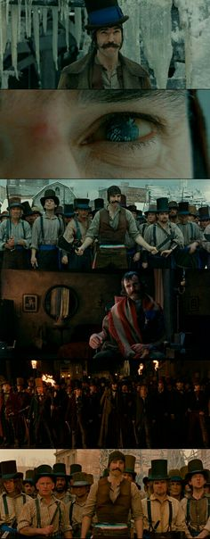 """Daniel Day-Lewis as Bill """"the Butcher"""" in Gangs of New York(2002)."""