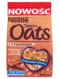 Nestle NESTLE 210g Cheerios Oats Chrupkie płatki owsiane z cynamonem