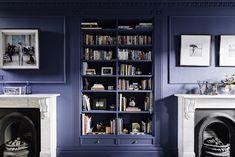 Blue room. Photography: Gautier Houba