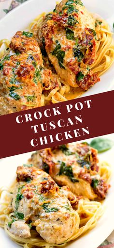 POT TUSCAN CHICKEN Crock Pot Tuscan Chicken is an amazing dinner that once you make it, you will want it again (and again! Crock Pot Tuscan Chicken is an amazing dinner that once you make it, you will want it again (and again! Vegan Bowl Recipes, Healthy Recipes, Quick Crock Pot Recipes, Healthy Crockpot Chicken Recipes, Best Crockpot Meals, Healthy Crock Pot Meals, Crock Pot Dinners, Crockpot Ideas, Crock Pot Cooking