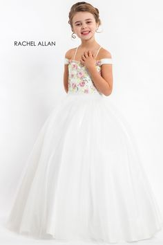 4d8d2207c4c7 Pick crown-worthy pageant dresses designs from Rachel Allan Prima Donna  Collection: lace evening pageant gowns, beauty contests dress, & princess  prom ...