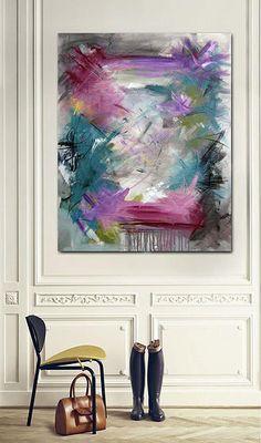 Rikke Laursen moderne abstrakte malerier   S H O W R O O M