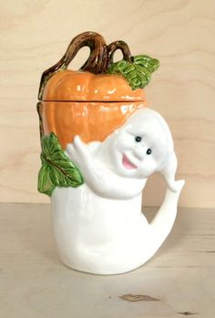 Ghost Cup With Lid - Halloween Mug - Ceramic Mug - Pottery Coffee Cup - Functional Ceramics - Housewarming Gift - Kitchen Decor - Tableware by BigGrayHorse on Etsy