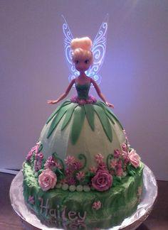 Tinkerbell Cake by DeannaSB | Cake Decorating Ideas