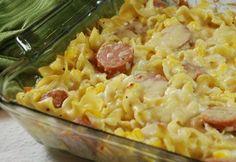 Polish Noodle Casserole