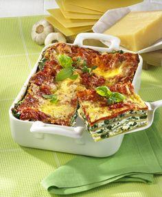 Unser beliebtes Rezept für Vegetarische Lasagne und mehr als 55.000 weitere kostenlose Rezepte auf LECKER.de.