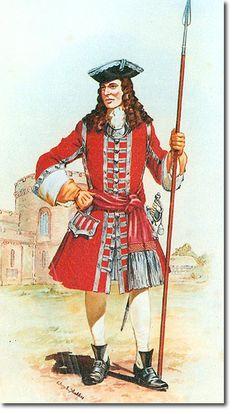 34th (Cumberland) REGIMENT OF FOOT OFICIAL - 1702. Más en www.elgrancapitan.org/foro