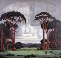 Pierneef - one day when I am big Art Gallery, Art Works, Art Images, Literature Art, Painting, Art, South African Art, South African Artists, Landscape Art