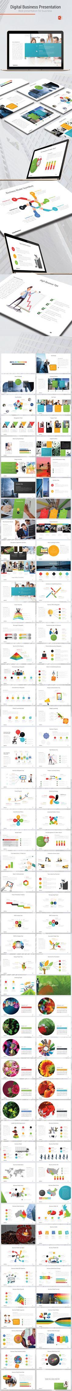 Digital Business PowerPoint Presentation Template