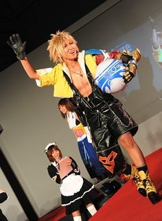 Cosplay #Final fantasy cosplay