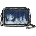Stella Mccartney Tie Dye Denim Falabella Cross Body Bag