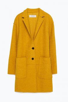 Zara Wool Coat, £59.99