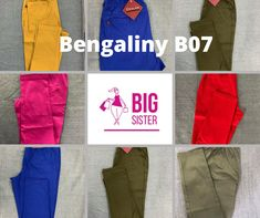 Bengaliny B07 slim fit - Big Sister