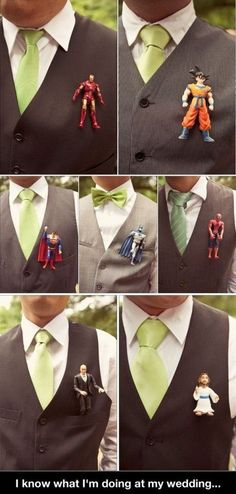 Love. Instead of flowers its the action figure for different  heroes. This is a definite do!