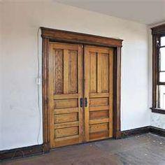 Antique Pocket Doors