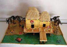 Gingerbread beach house