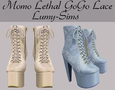 http://sims4ccthebest.blogspot.com/2016/08/ts3-lethal-gogo-lace-boots-conversion.html