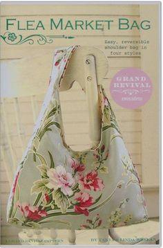 Flea Market Bag Sewing Pattern