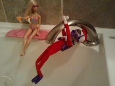 Scuba Elf on the Shelf  Scuba diving Elf!