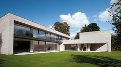 House in Uccle, Belgium by Marc Corbiau - Bureau d'Architecture