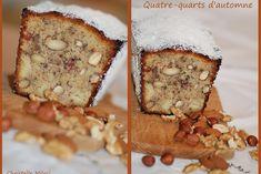 Four-quarters of autumn Desert Recipes, Fall Recipes, Sweet Recipes, Chrismas Cake, American Cake, Farm Cake, Easy Eat, Biscuit Cake, Dessert Bread