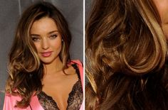 Miranda Kerr's Hair Color