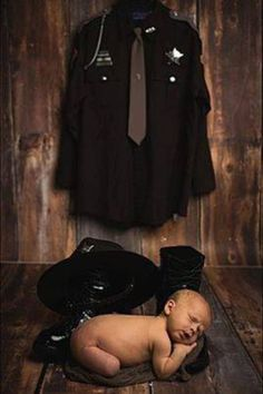 deputy sheriff, baby, police baby, baby photography, police wife, LEO wife, law enforcement