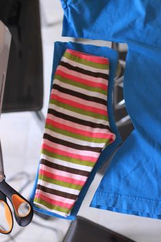 Super easy baby pants instructions , no paper patterns or ironing needed,!!