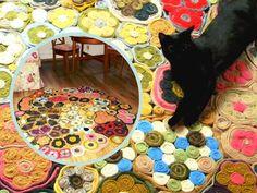 szminka w szpilkach: Dywan bardzo piękny i koty, które się psu nie kłan...