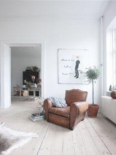 Blackbird: A French Apartment in Denmark