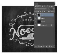 How to Create a Chalk Logo Effect in Photoshop