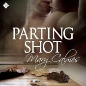 I finished listening to Parting Shot by Mary Calmes, narrated by Tristan James on my Audible app.  Try Audible and get it free.