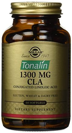 Solgar Tonalin CLA 1300 mg 60 Softgels * You can find out more details at the affiliate link of the image.