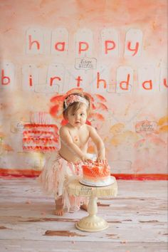 Cake Smash Props and Birthday Backdrops