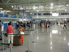 Athens Airport check-in area.  Need a #transfer?  http://www.athensairport.cab
